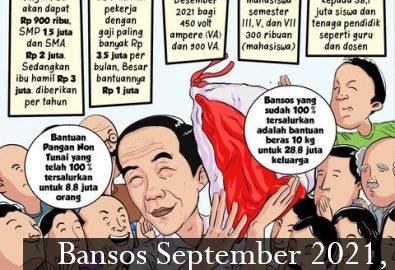 Bansos September 2021